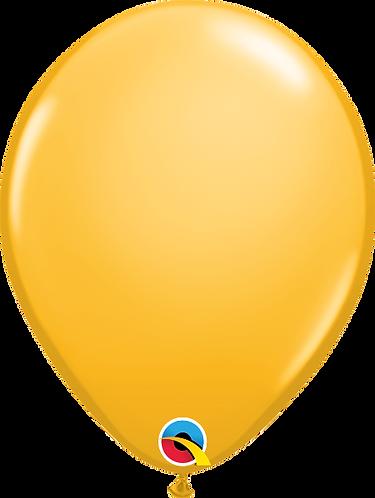 "11"" Standard Latex Balloon - Goldenrod"