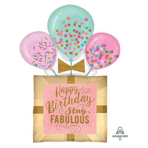 "32"" Fabulous Birthday Gift Helium Balloon - hb81"