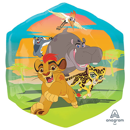 "23"" The Lion Guard Hexagon Helium Balloon - z59"