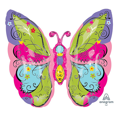 "24"" Big Butterfly Helium Balloon - z02"