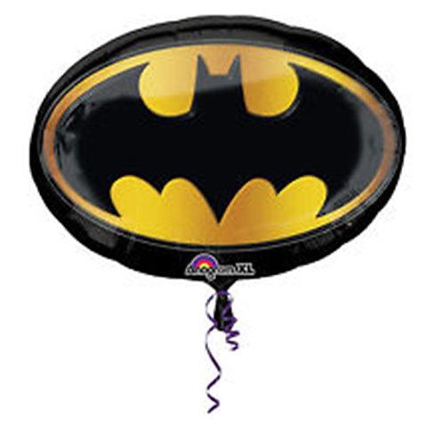 """27"""" Superhero Batman Logo Helium Balloon - s13"""