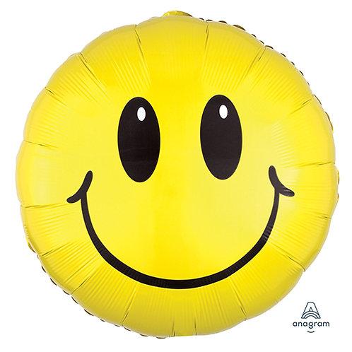 "30"" Smiling Face Emoji Helium Balloon - y11"