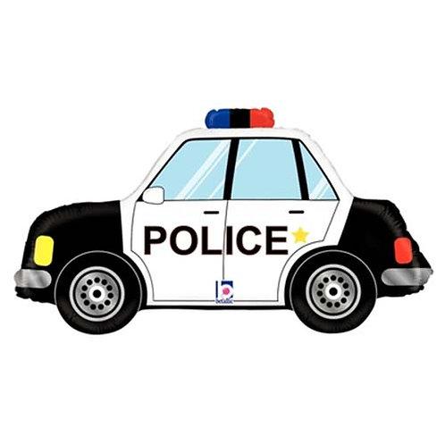 "40"" Police Car Helium Balloon - y105"