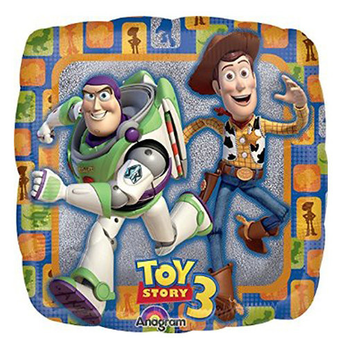 "18"" Toy Story Woody & Buzz Helium Balloon - t05"