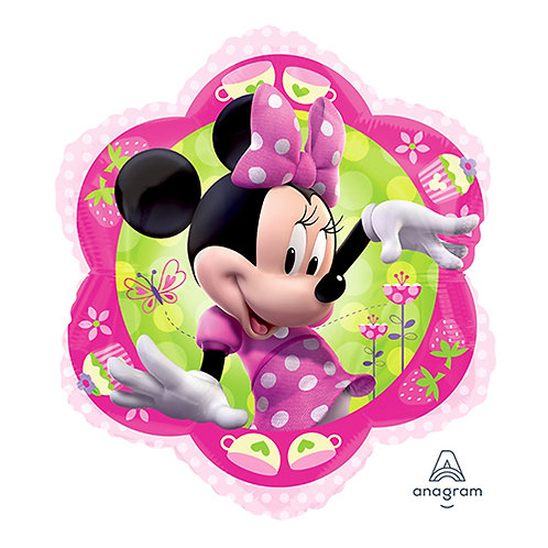"18"" Flower Shape Minnie Mouse Helium Balloon - m08"