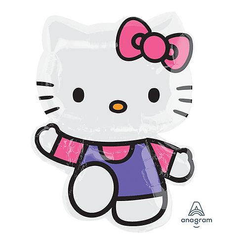 """30"""" Hello Kitty Full Body Standard Helium Balloon - k08"""