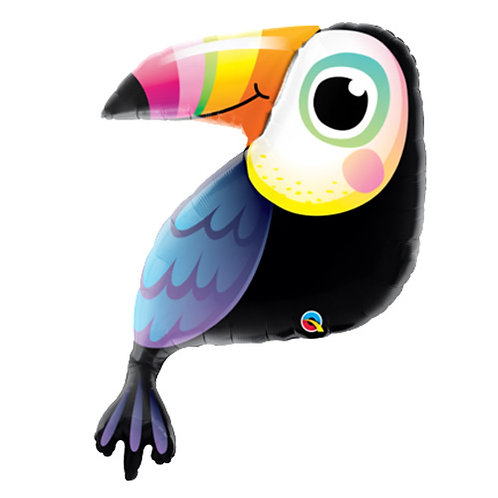 "30"" Wild Cute Toucan Helium Balloon - z67"