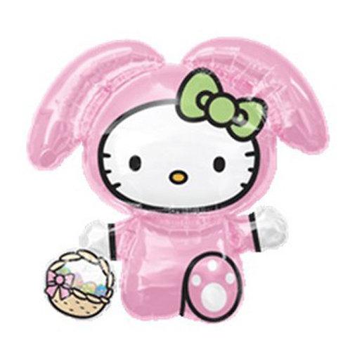 """30"""" Hello Kitty Cosplay Helium Balloon - k09"""