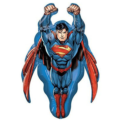 "34"" Superman Flying Helium Balloon - s02"