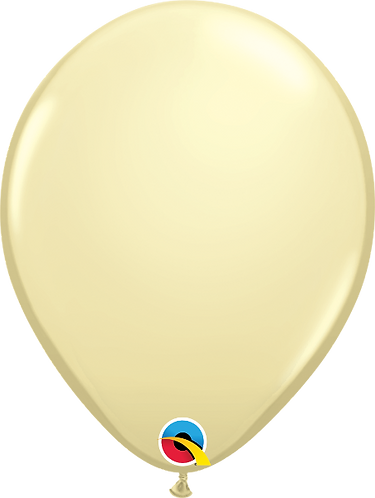 "11"" Standard Latex Balloon - Ivory"