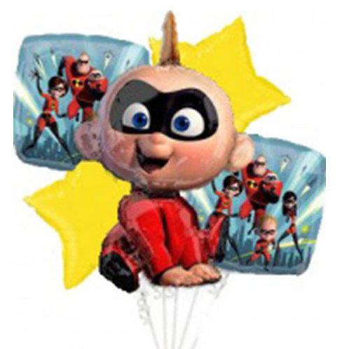 Incredibles Jack Jack Helium Balloon Bouquet - bq49