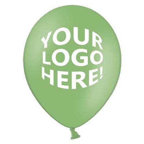 "12"" Latex Advertising Logo Print Balloon - min.100pc"