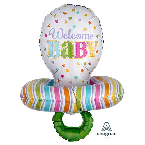 "30"" Baby Pacifier Helium Balloon - bb15"