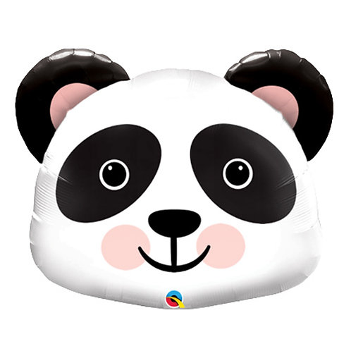 "30"" Panda Head Helium Balloon - z69"