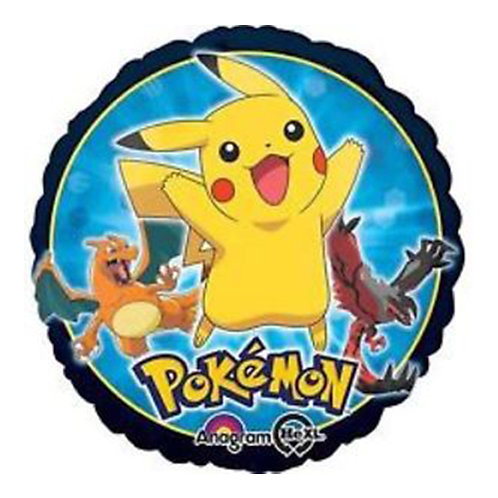 "18"" Pokemon Pikachu & Charizard & Yveltal Helium Balloon - y26"