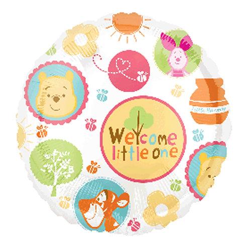 "18"" Winnie the Pooh & Friends Welcome Little One Helium Balloon - w17"