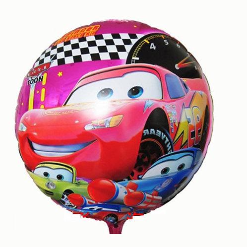 "18"" Lightening McQueen Purple Colour Helium Balloon - c18"