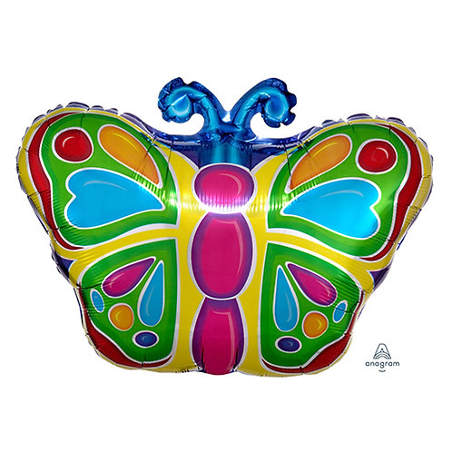"""18"""" Small Butterfly Helium Balloon - z12"""