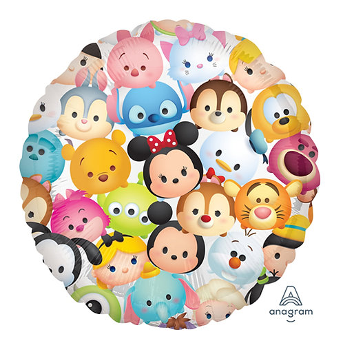 "18"" Tsum Tsum All Characters Helium Balloon - y48"