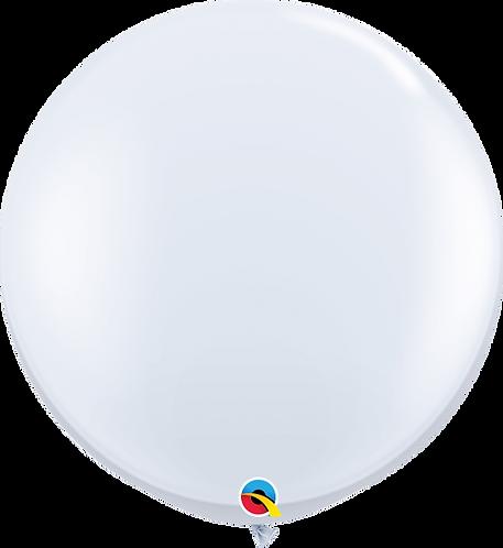 "36"" Latex Balloon - White"