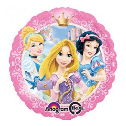 "18"" 6 Princess 2-sides Helium Balloon - ps19"