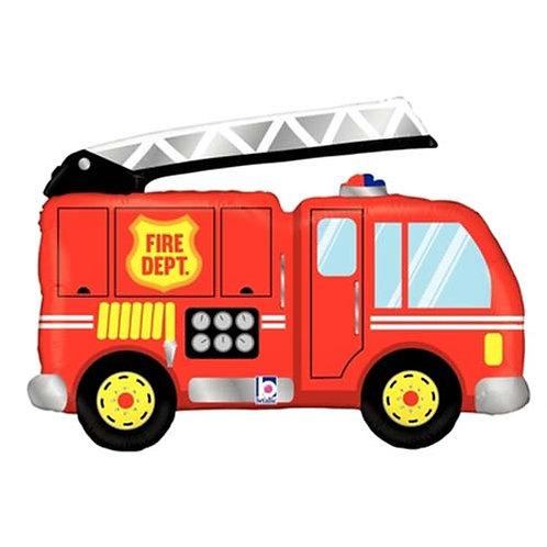 "40"" Fire Truck Helium Balloon - y104"