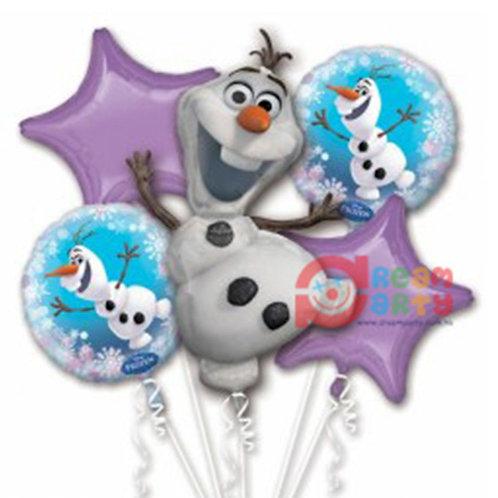 Frozen Olaf Helium Balloon Bouquet - bq63