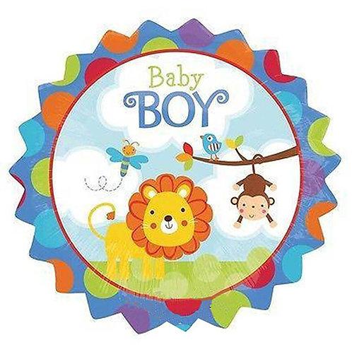 "18"" Baby Boy Lion Helium Ballooon - bb43"