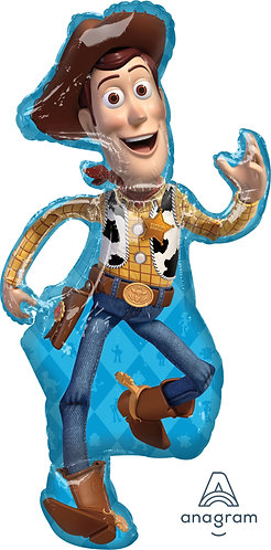 """44"""" Toy Story Woody Helium Balloon - t13"""
