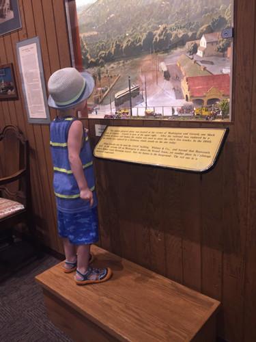 Electric Train Exhibit