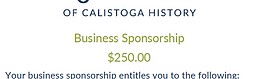 Business Sponsorship