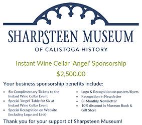 Instant Wine Cellar 'Angel' Sponsorship