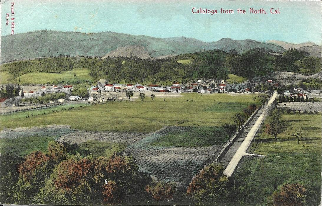 Calistoga from North