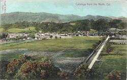 Calistoga from North