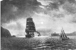 Ship in Golden Gate