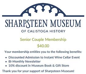 Senior 65+ Couple Membership