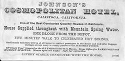 Johnsons Cosmopolitan Hotel