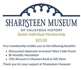 Senior 65+ Individual Membership