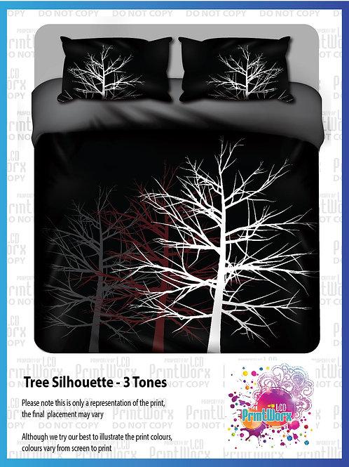 Tree Silhouette- 3 tones