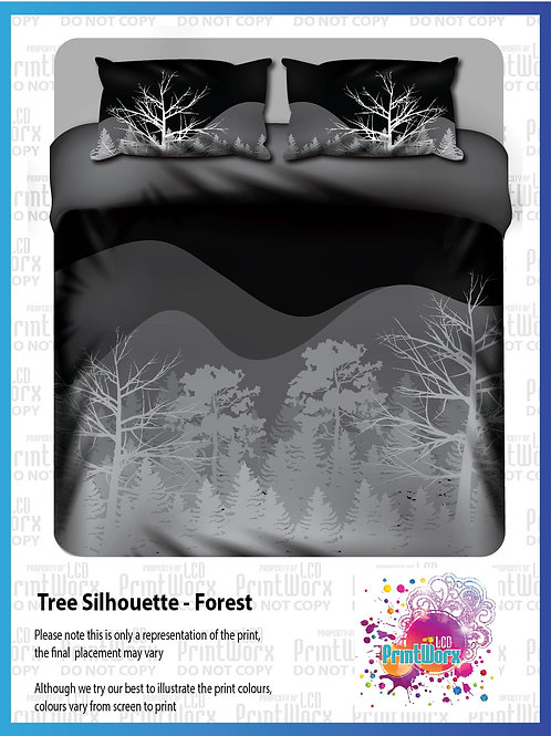 Tree Silhouette - Forest