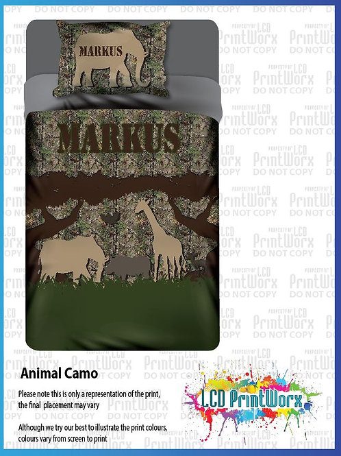 Wildlife Camo with Animals