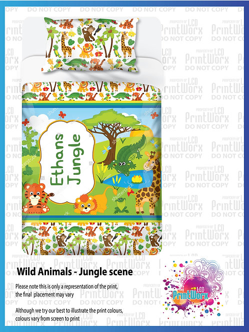 Wild Animals - Jungle Scene