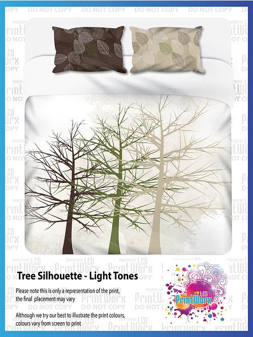 Tree Silhouette - Light Tones