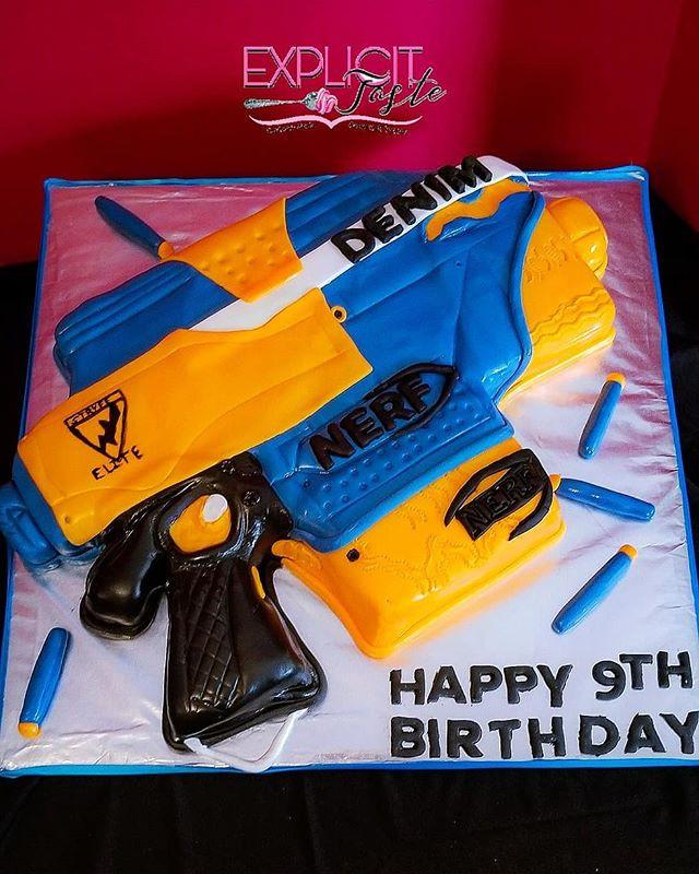 Happy 9th Birthday Denim! #nerfguninspir