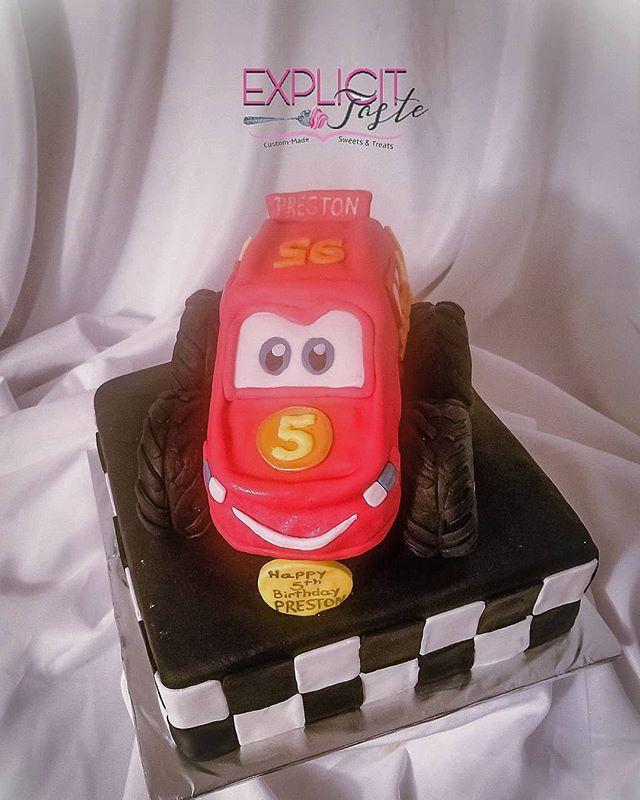 Lightning McQueen inspired cake!.jpg