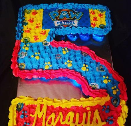 Pawtrol inspired cupcake cake!.jpg