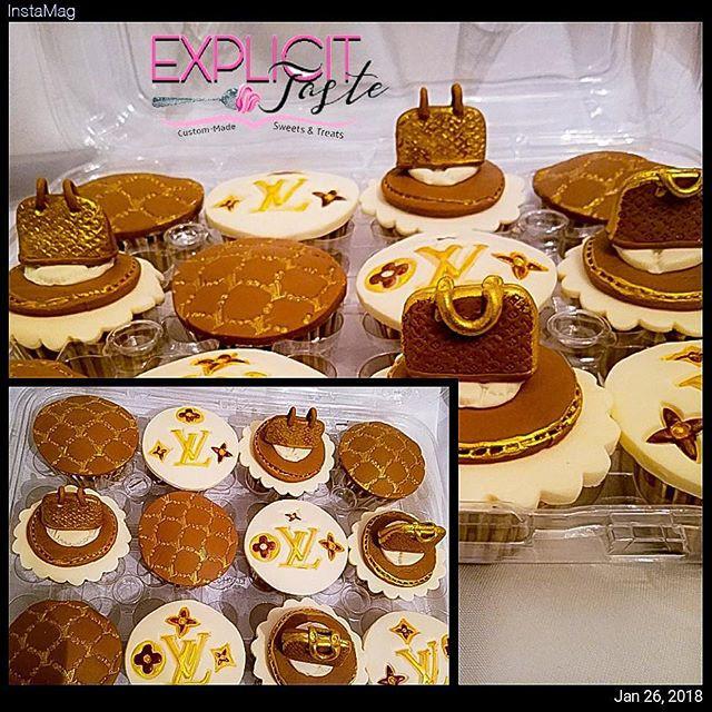 Louis Vuitton inspired cupcakes 😍.jpg