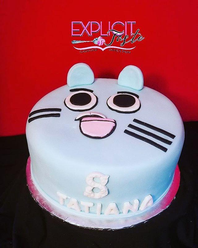 Amazing World of Gumball inspired cake.j