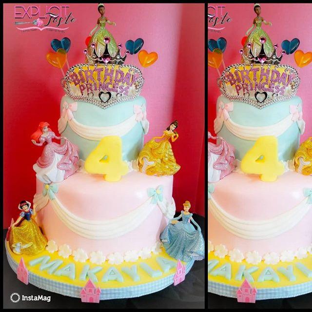 Happy 4th Birthday Makayla! #disneyprinc