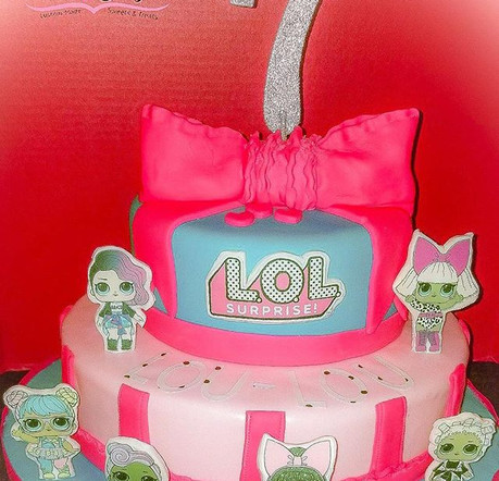 L.O.L Surprise Dolls inspired cake!.jpg